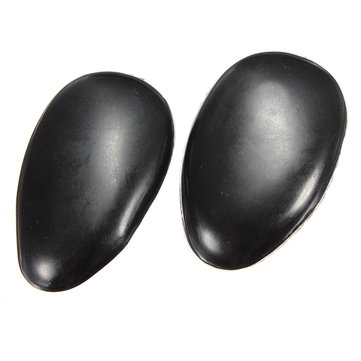 1Pair Black Plastic Hair Dye Ear Cover Shield Tint Clip